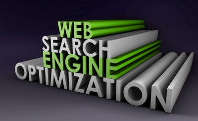 "illustration of the words ""Search Engine Optimization"" stacked on each other"